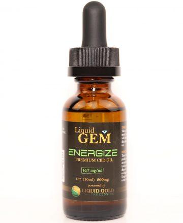 Energize CBD tincture 1